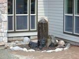 basalt column bubbler